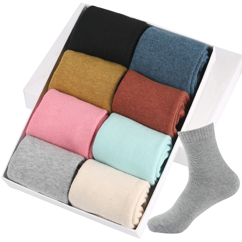 5Pairs/Lot Eur36-42 Women Winter Thicken Terry Cotton   Socks   Female Towel Warm   Socks   s353