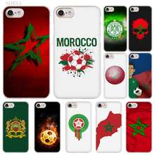 Plusmorocco Sepak Bola Sepak Bola Fashion Transparan Penutup Case untuk iPhone Xi R 2019 X Max XR X S 5 4 S 5 SE 6 6 S 7 7 Plus(China)