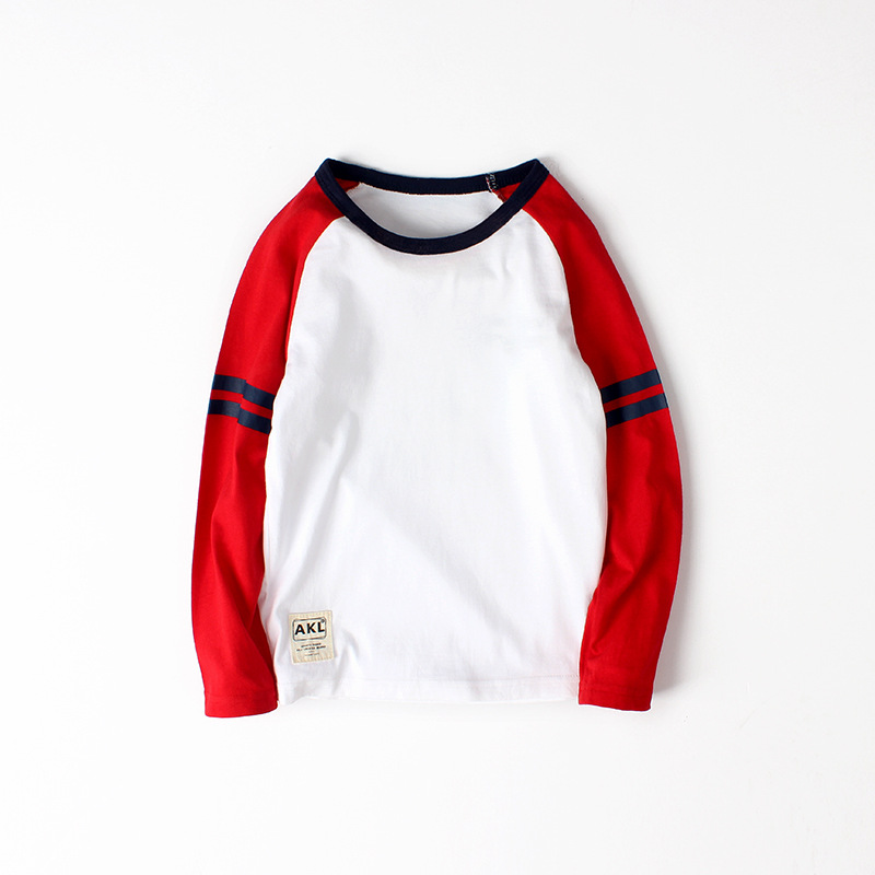 VIDMID kids long sleeve clothing boys cotton T-shirts new arrival long sleeve children clothes t-shirts for 6-14Y boys 4102 19 4