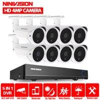 Home 8CH AHD 4MP DVR NVR Security Camera System 2560*1440P HD 4.0MP outdoor Camera CCTV Kit Video Surveillance CCTV system 8ch