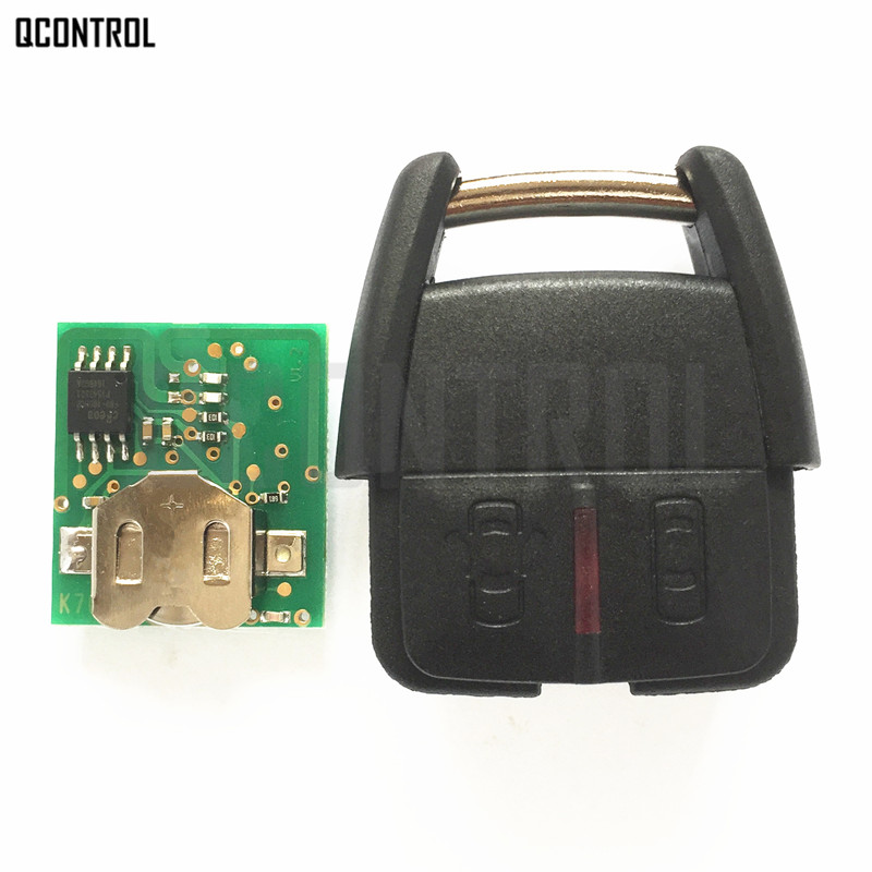 QCONTROL Car Remote Key Head Fit for OPEL Astra Zafira Corsa Vectra hd90 p1 ccb1 used in good condition
