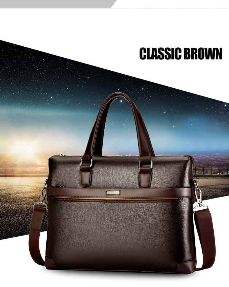 HTB1aX0Odk5E3KVjSZFCq6zuzXXar bolso hombre maleta lawyer sac luxe sacoche homme leather briefcase messenger lo mas vendido business office laptop bags for men