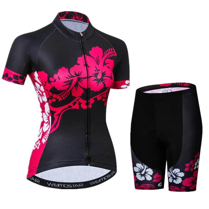Weimostar 2019 pro equipe de bicicleta ciclismo roupas femininas secagem rápida conjunto jérsei ropa ciclismo mujer mountain bike roupas