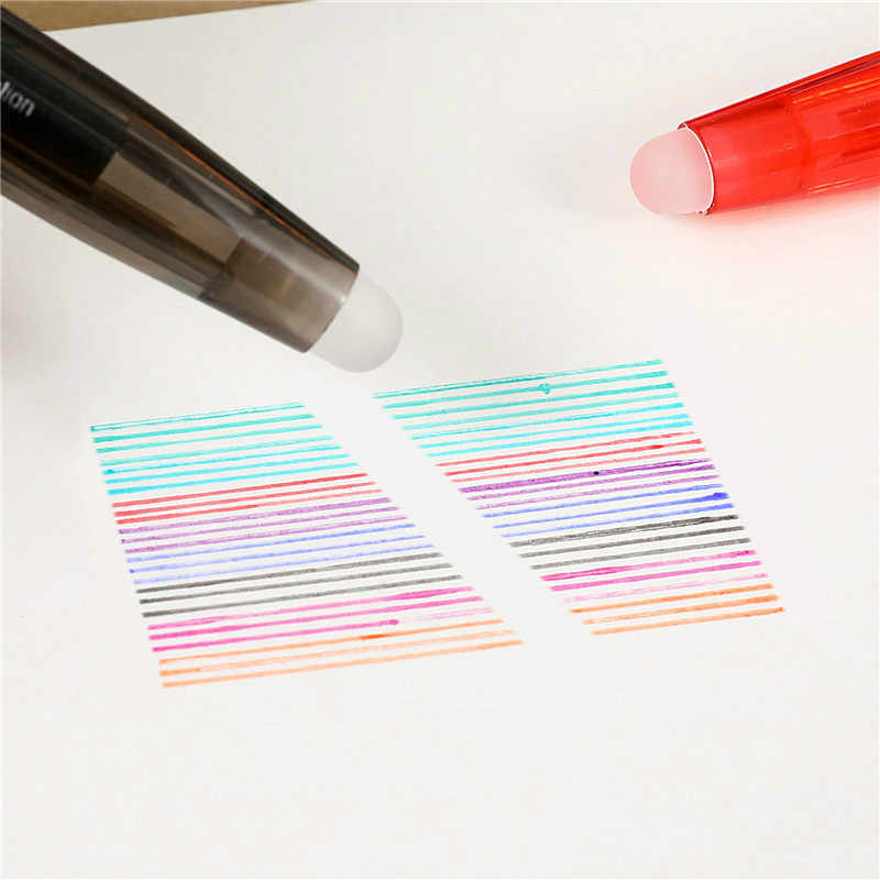 1 pcs Getrokken Kleur Uitwisbare Mechanische Potloden 0.5mm Lood Houder Opstellen Tekening Potlood Leads Schrijven School Geschenken Briefpapier
