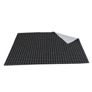 Image 3 - ホット黒のチェック柄テーブルクロスホームコーヒーテーブル装飾簡単なテーブルクロスホームレストランショップ装飾