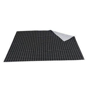 Image 3 - Hot Black Plaid Table Cloth Home Coffee Table Decorative Brief Tablecloth For Home Restaurant Shop Decoration