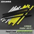JERXUN Transparent Hot Melt Glue Sticks 7/11mm Environmental Protection Black Yellow Hot Melt Glue Sticks Glue Gun Tools