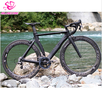 Rolling Stone Force Aerodynamic Carbon Frame Road Bicycle Frame Road Bike Frame 51.5cm