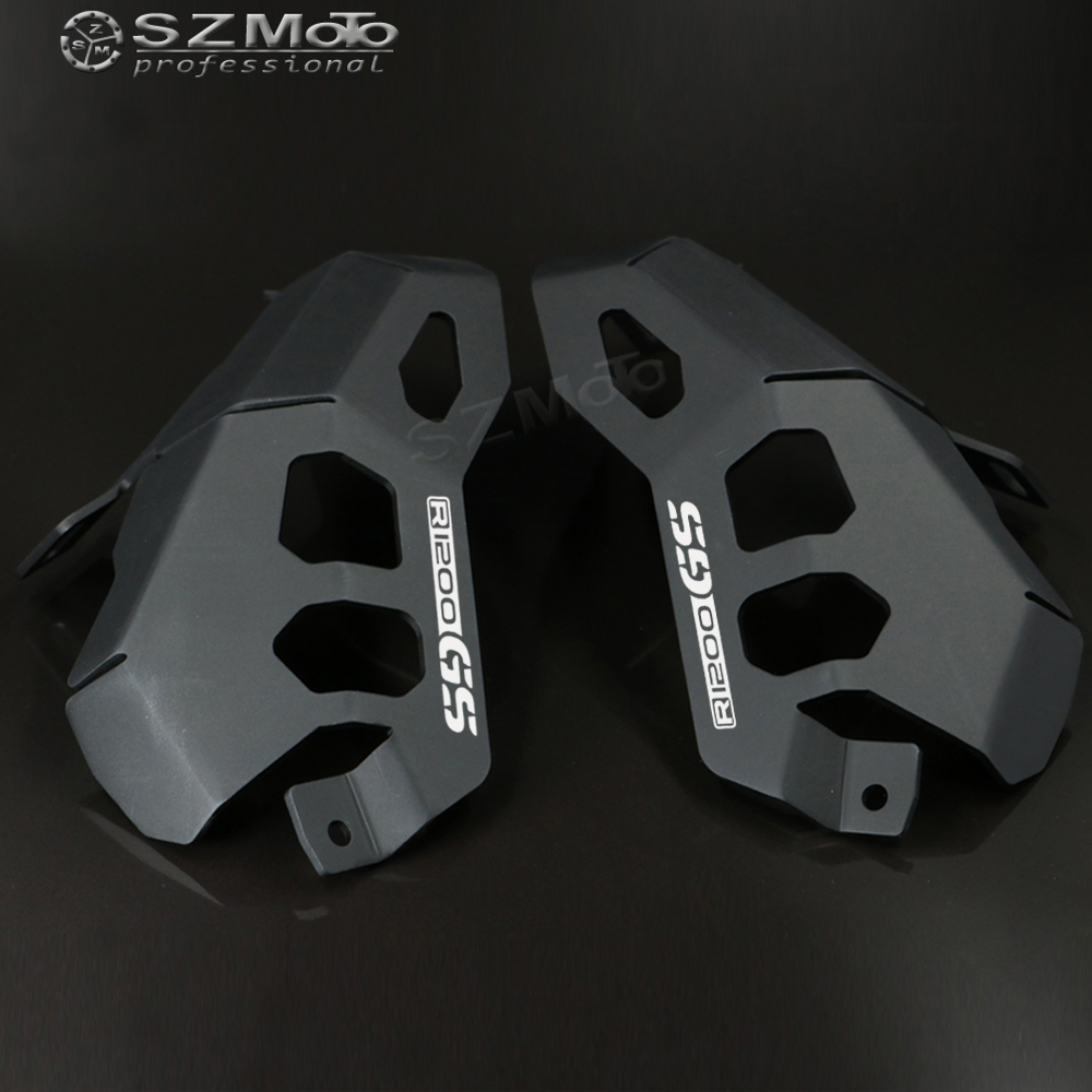 For BMW R1200GS LC R1200 GS Adventure ( ADV ) Water Cooled 2014-2017 2016 Motorcycle Cylinder Head Engine Guards Protector Cover cylinder head guard protector covers for bmw r1200gs adventure 2014 2017 15 16