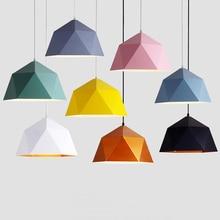 Modern Iron pendant light hanging lights living room bedroom pendant lamp pendant lights LED decor dining room hanging lamp