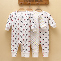 100% Cotton Thick Baby Rompers Winter Cartoon Long-Sleeve Baby Pajamas Warm Baby Girls Clothes Infant Clothing Baby Boys Costume