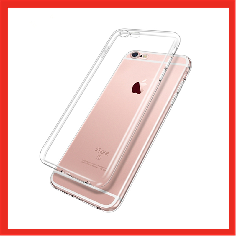 Ultra thin Silicone TPU <font><b>Phone</b></font> <font><b>Case</b></font> For iPhone 6 S 6s <font><b>7</b></font> 8 <font><b>Plus</b></font> 6Plus 6sPlus 7Plus 8Plus 5 5s SE 4s shell Clear Cover Casing