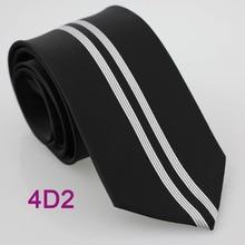 Coachella Мужские галстуки черный с серебряными вертикальными полосками нормальный тканый галстук в деловом стиле для мужчин платье рубашки Свадебные