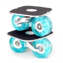 Дрифт коньки freeline коньки алюминиевая доска с высоким качеством мигающее ПУ колесо
