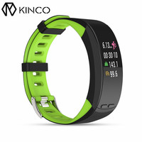 KINCO Color Screen Display Bluetooth GPS Outdoor Activity Tracker Heart Rate Monitor Bracelet Distance Wristband for IOS/Android