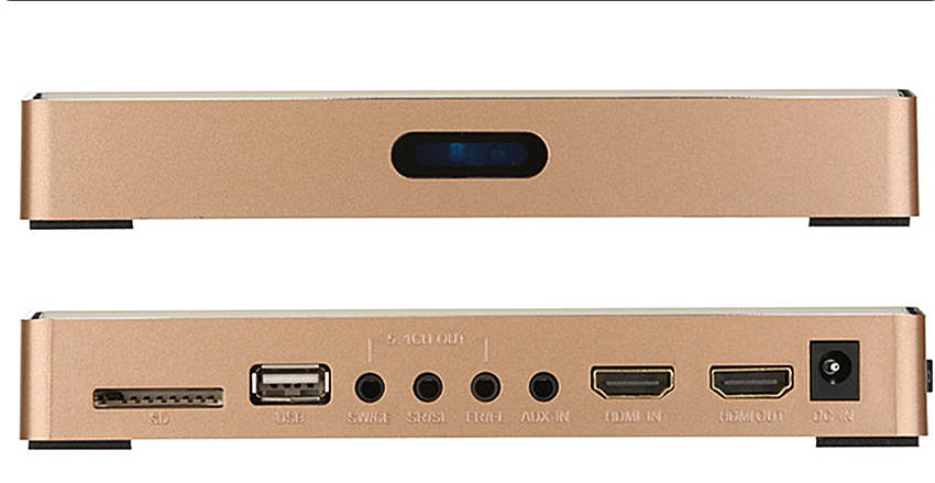 Digital-analog Dts/ac3 Decoder W/usb/hdmi/sd/wifi SchöN In Farbe Tragbares Audio & Video SchöN Gao51 Wav Flac Ape Loseless Player 5.1-kanal Digital Audio System