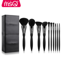 MSQ Professional Makeup Brushes Set High Quality 12 Pcs Makeup Tools Kit Premium Full Function Blending