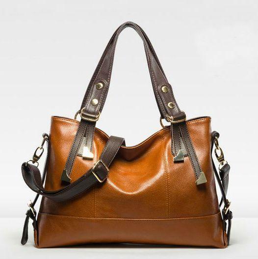 ФОТО 2016 Autumn\Winter Fashion Women Genuine Leather Handbag\bag,Cowhide Leather Shoulder Bag\Tote Bag\Messenger Bag~13B201