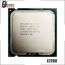 Intel Core 2 Duo E7200 2.5 GHz Dual-Core procesor cpu 65W 3M 1066 LGA 775(China)