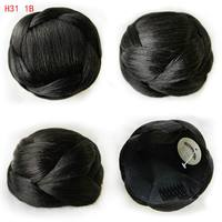 Heat Resistant New Clip In Bun Hair Chignon Bun Wig Hair Ponytail Drawstring Bun Hairpieces Pony