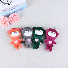 Plush Toy Cat Decoration Filled Plush Animal Kitten Keychain Pendant Bag Key Pendant Children's Holiday Gift Plush Toy томас бабингтон маколей lays of ancient rome