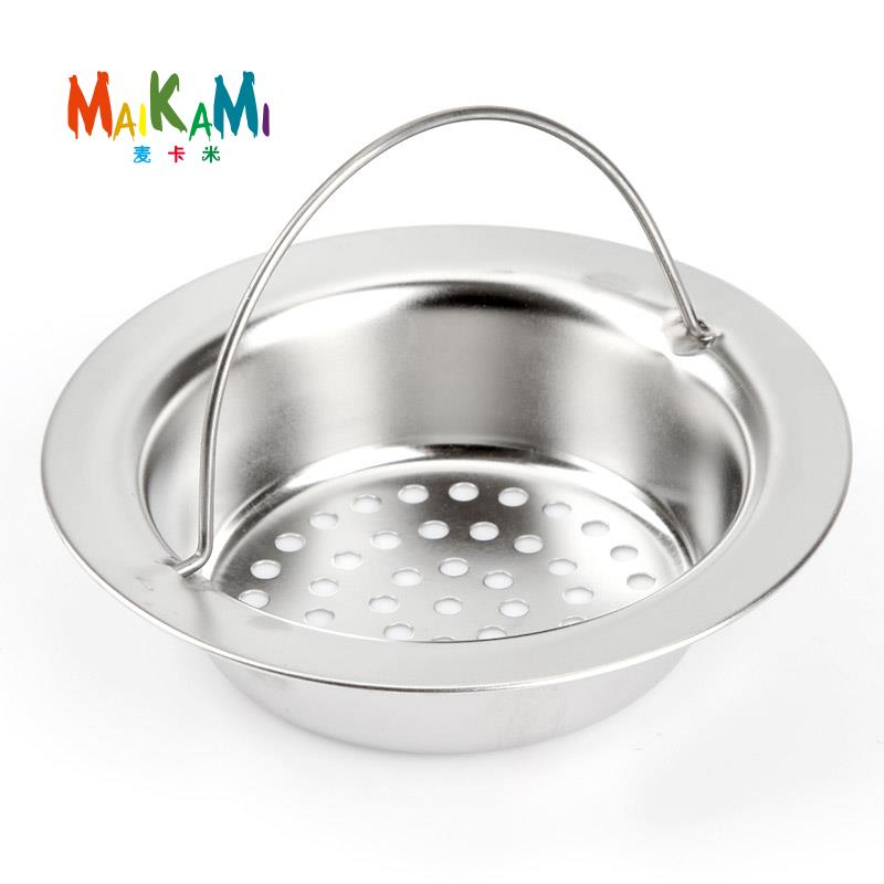 Stainless Steel Sink Strainer Shower Floor Drain Bathroom Plug Trap Hair  Catcher Kitchen Sink Filter Floor