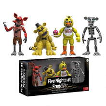 New Arrival FNAF PVC Figure Five Night At Freddy's Action Figures Toys Foxy Freddy Toys for Children Kids Collection Toys