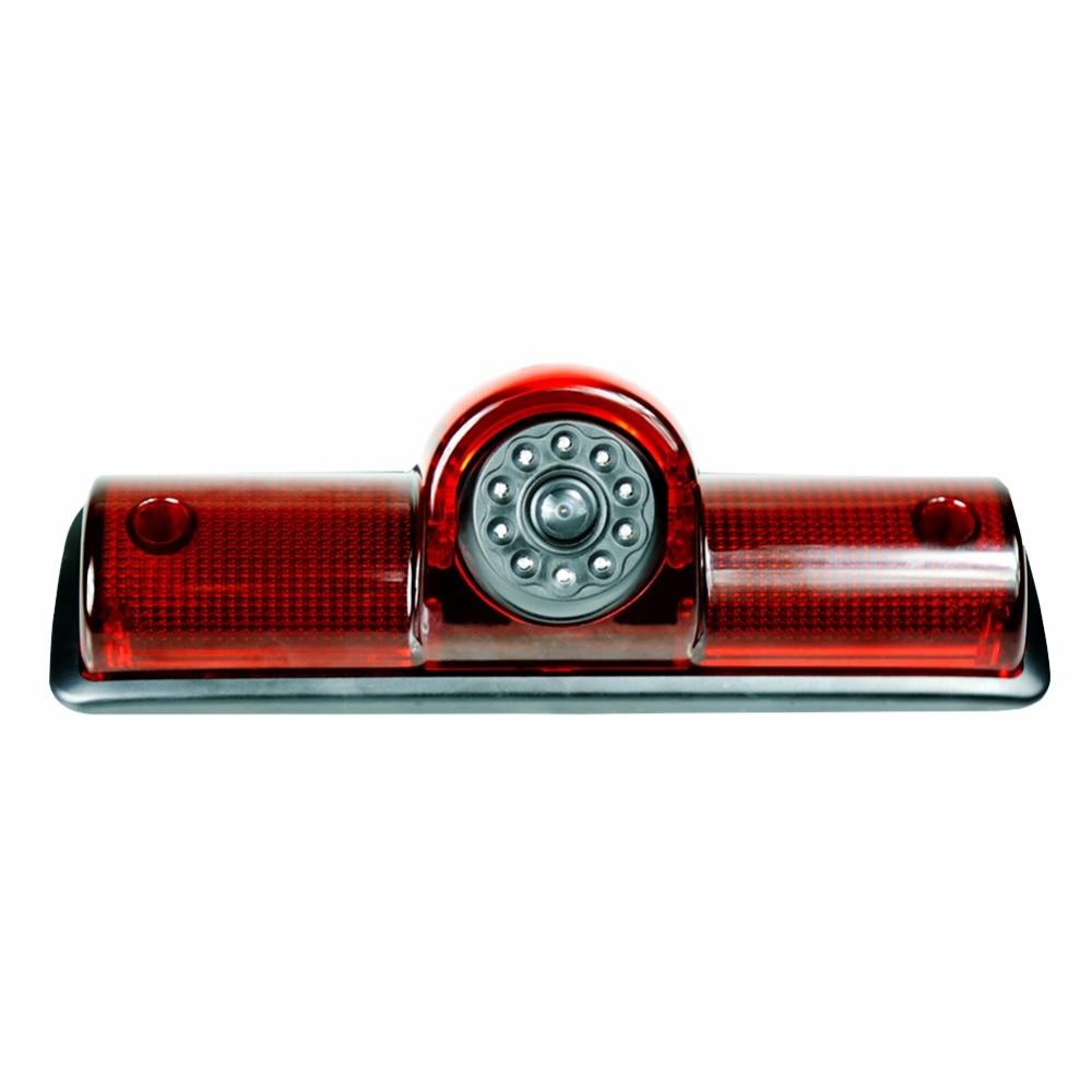Universal Brake Light Camera 3rd Brake Light Rear View Camera Backup 170 Degree Reversing for Cargo