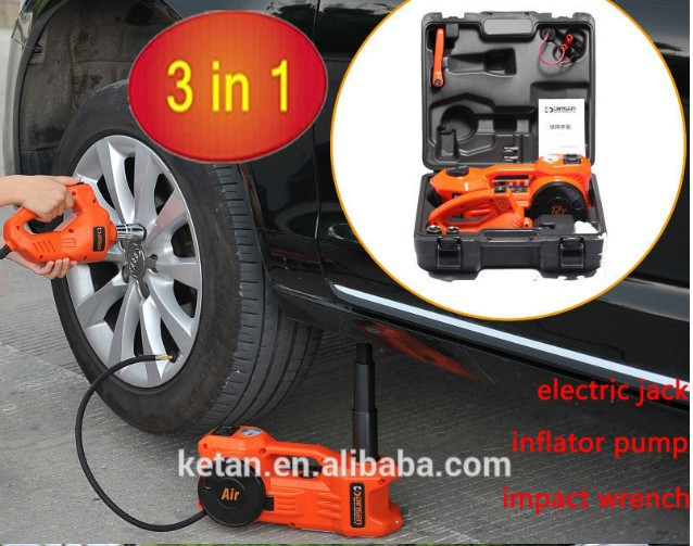 portable car repair tool kit 12V electric lifting ...