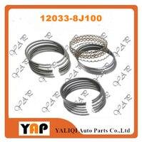 VQ35DE VQ35 PISTON RING SET PER FITNISSAN QUEST ALTIMA TEANA 350Z MURANO E52 J32 Z33 Z51 3.5L V6 24 V STD 12033 JP00A 12033 8J100 su