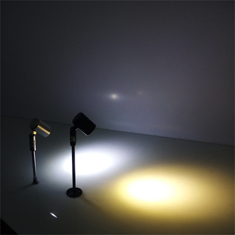 180 grados rotable1 cabeza 3W llevó la lámpara del punto del - Iluminación interior - foto 4
