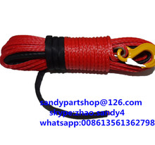 10mm*40m synthetic winch rope for auto parts,atv winch line for offroad,kevlar rope