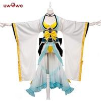 UWOWO Game Fate/Grand Order Women Cosplay Costume FGO Berserker Kiyohime Sexy Swimsuit Costume Full Set Girl Cosplay Costume