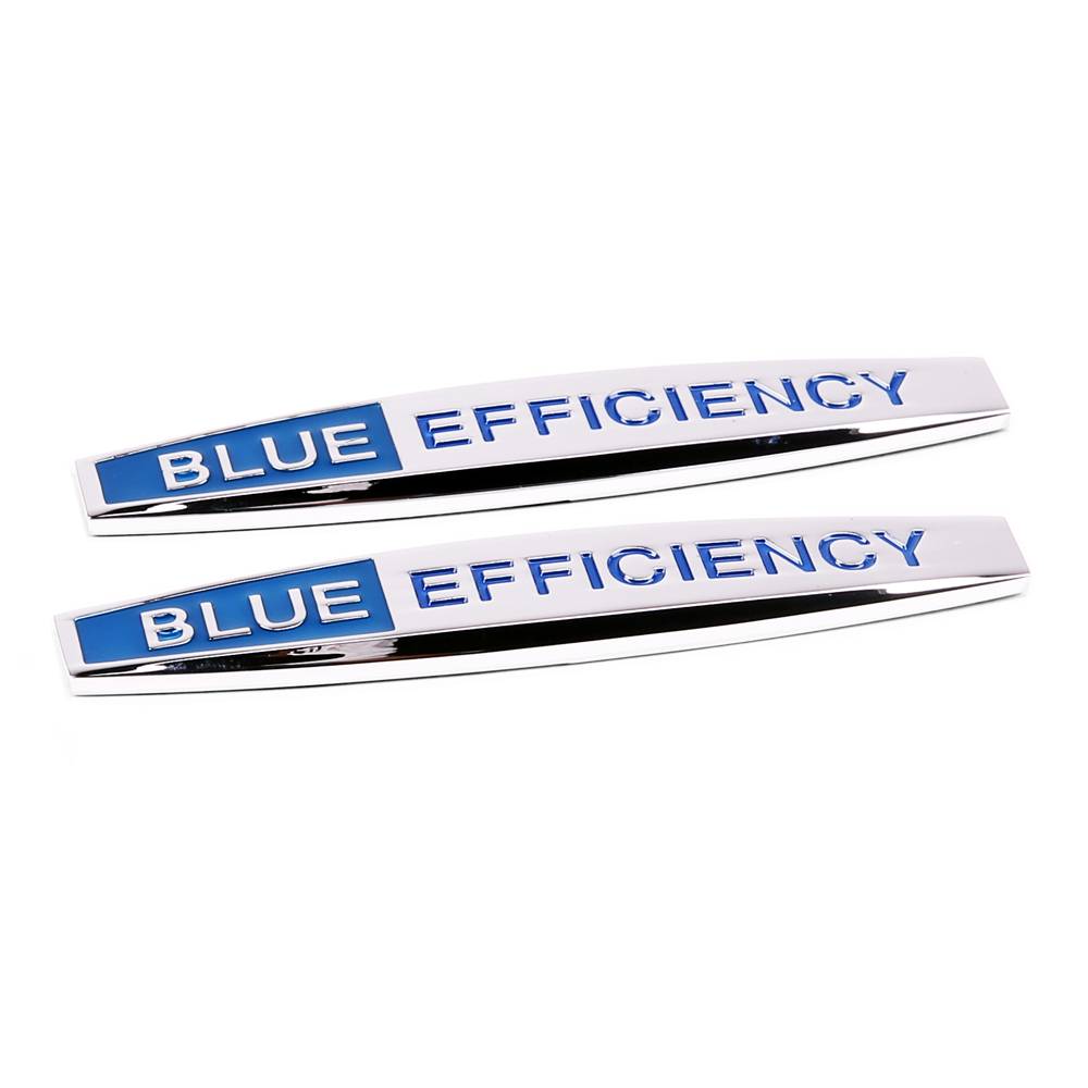 Car Sticker Side Emblem Badge Auto Rear Trunk Decoration Decal For Blue Efficiency Logo Mercedes Benz Glk Slk W211 W210 S320 Gls car styling for mercedes benz g series w460 w461 w463 g230 g300 g350 chrome number letters rear trunk emblem badge sticker