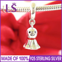 LS Одежда высшего качества 100% 925 серебряные Азии Солнечный Кукла мотаться Талисманы подходят оригинальный Браслеты Pulseira энкантос. Ювелирные...