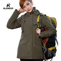 ALBREDA Professional для женщин ветрозащитная водонепроницаемая, Лыжный спорт куртка пальто для будущих мам зимние теплые спорт на открытом воздухе