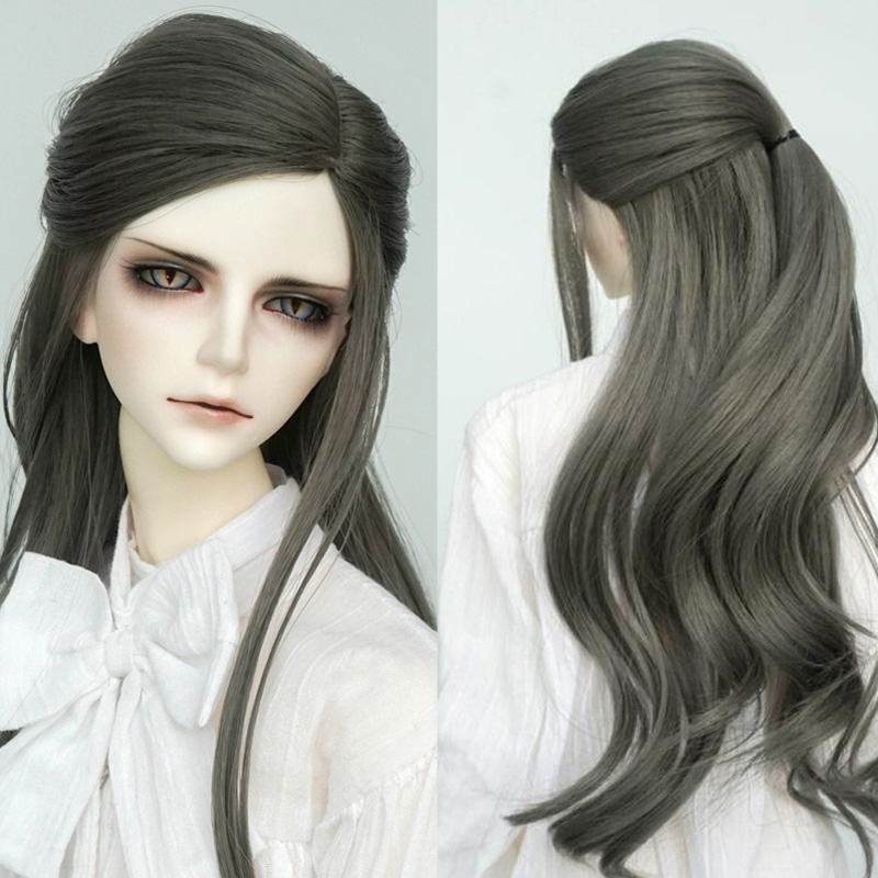 1//4 Bjd Doll Wig High Temperature Wire Long Lovely Wavy For BJD AOD Hair Wig