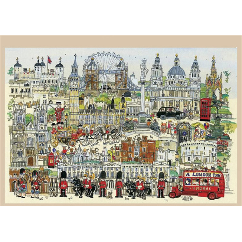 Jigsaw puzzles 2000 pieces wooden world famous painting puzzle Educational toys for adults children kids home decoration