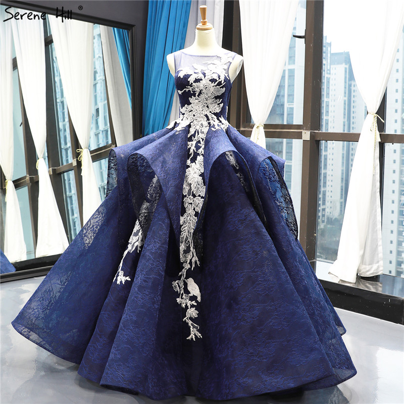 Blue Wedding Dresses 2019: Aliexpress.com : Buy High End Sleeveless Lace Handmade