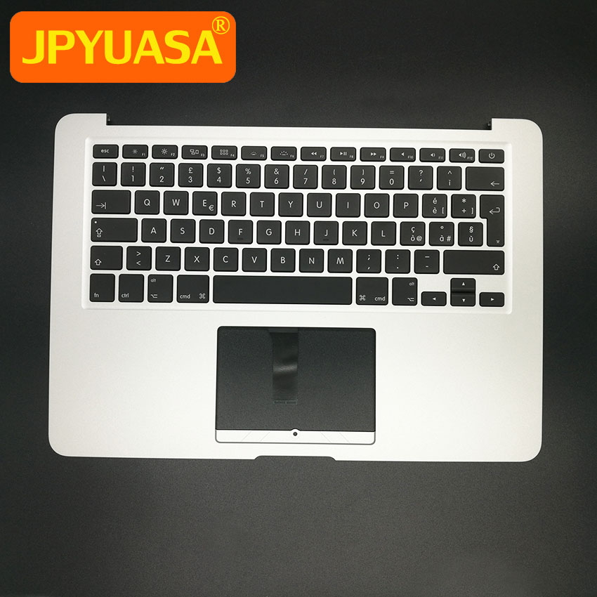 New Top Case Topcase with IT Italian Keyboard and Backlit For Macbook Air 13 A1466 Italy Laptop 2013 2014 2015 laptop parts for lenovo yoga 2 13 yoga2 13 black palmrest with backlit sweden sw1 keyboard 90205189