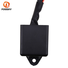 POSSBAY Motorcycle Voltage Regulator Rectifier fit for Yamaha YFM 225 Moto-4 1986 1988 250 89 91 Scooter