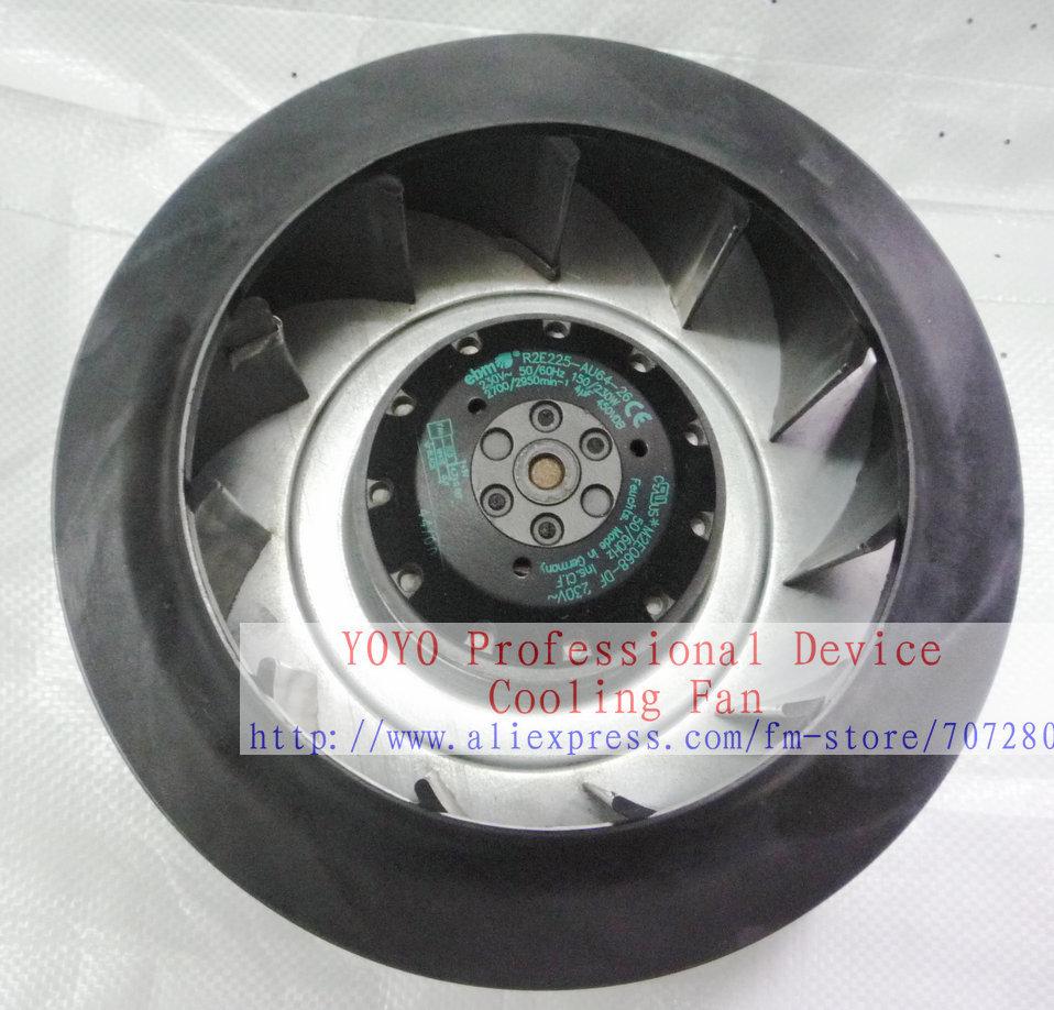 Original EBMPAPST R2E225-AU64-26 AC230V 150/230W Centrifugal Blower cooling fan original germany ebmpapst r1g225 af11 30 48v 36 57v 95w centrifugal cooling fan