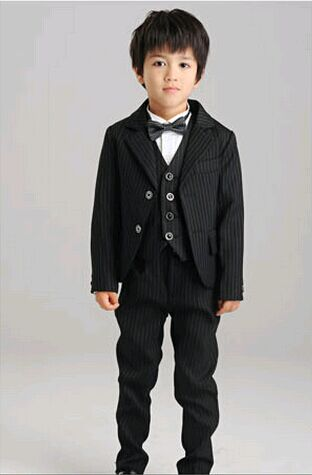 Flower Boy Dresses Childrens Small Suit Boys Wedding Clothes Small
