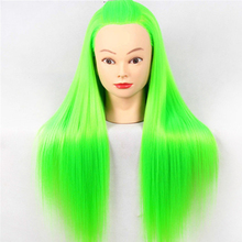 Professional Mannequin Head Hairdressing Dolls Female Quality Styling Edit Training with Yaki Synthetic