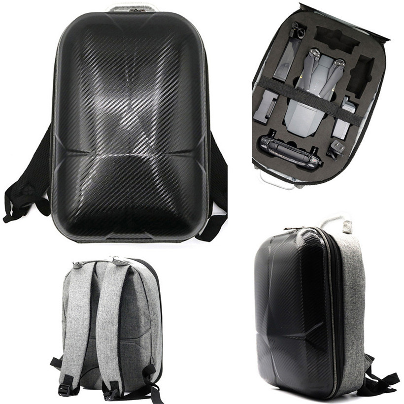 For DJI Mavic Pro Hard Shell Carrying Backpack bag Case Waterproof Anti Shock 0420 drop shipping