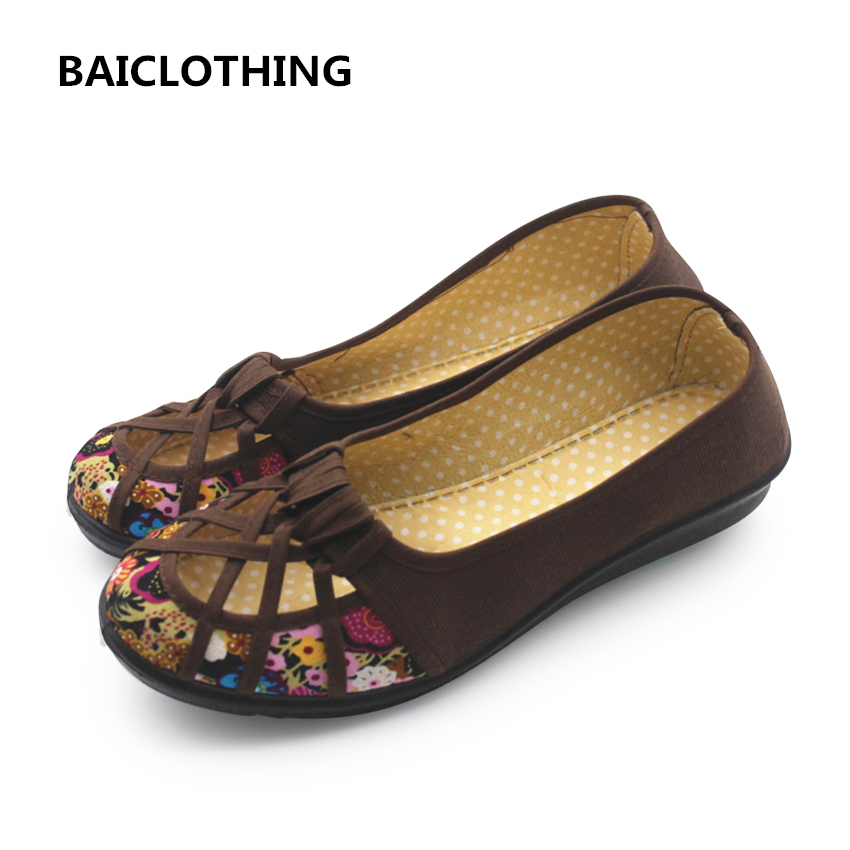 BAICLOTHING women mesh breathable flat shoes female spring and summer shoes lady cute soft comfortable flats zapatos de mujer women cool mesh breathable shoes female sport and outdoor soft bottom shoes lady casual slip on shoes zapatos de mujer
