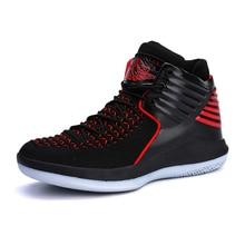 0a6f119264 Plus Size 45 Retro Bakset Homme 2019 Novos Homens Marca de Basquete Sapatos  Para Sapatilhas Dos