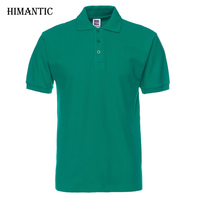 Men Polo Shirt Brand Mens Solid Color Polo Shirts Camisa Masculina Men S Casual Cotton Short