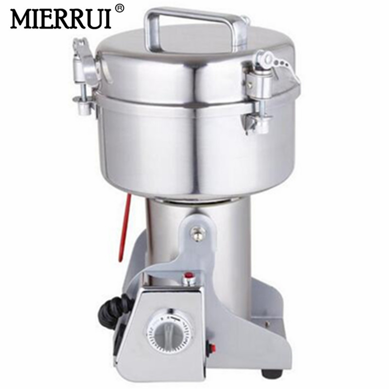 hot sale 500g Stainless steel medicine grinder mill small household electric ultrafine powder machine chinese herb grinder high quality 300g swing type stainless steel electric medicine grinder powder machine ultrafine grinding mill machine
