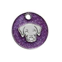 Персонализированные Жетоны для собак с гравировкой кошка, щенок, домашний питомец кличка подсветка-поводок для собаки аксессуары для домашних животных